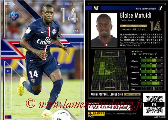 N° 051 - Blaise MATUIDI (Star)