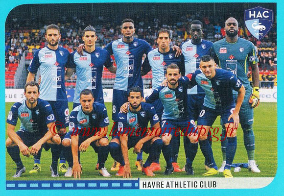 2016-17 - Panini Ligue 1 Stickers - N° 876 - Equipe Le Havre
