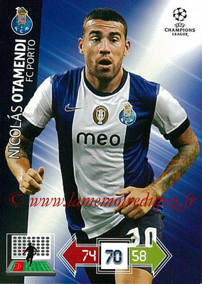 2012-13 - Adrenalyn XL champions League N° 195 - Nicolas OTAMENDI (FC Porto)