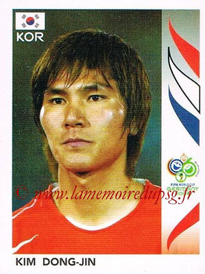2006 - Panini FIFA World Cup Germany Stickers - N° 502 - Kim DONG-JIN (Corée du Sud)