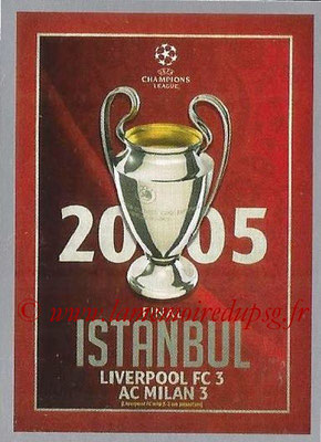 2015-16 - Topps UEFA Champions League Stickers - N° 597 - UEFA Champions League Final 2004-05