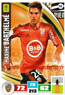 2016-17 - Panini Adrenalyn XL Ligue 1 - N° 132 - Maxime BARTHELME (Lorient)
