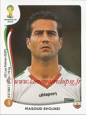 2014 - Panini FIFA World Cup Brazil Stickers - N° 463 - Massoud SHOJAEI (Iran)
