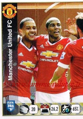 2015-16 - Panini FIFA 365 Stickers - N° 327 - Equipe Manchester United FC 1