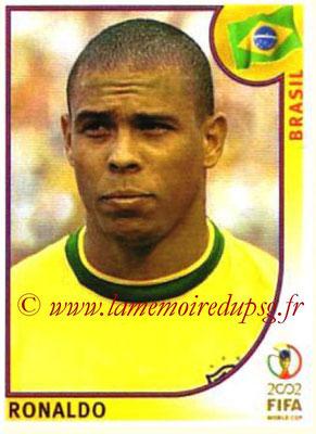 2002 - Panini FIFA World Cup Stickers - N° 184 - RONALDO (Brésil)
