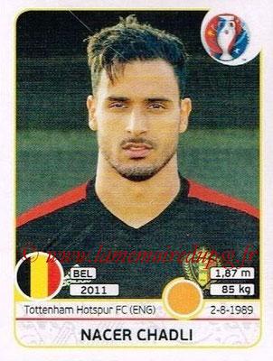 Panini Euro 2016 Stickers - N° 479 - Nacer CHADLI (Belgique)