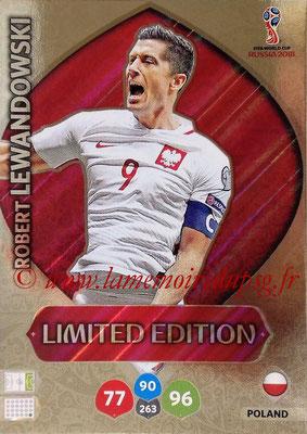 2018 - Panini FIFA World Cup Russia Adrenalyn XL - N° LE-RL - Robert LEWANDOWSKI (Pologne) (Limited Edition)
