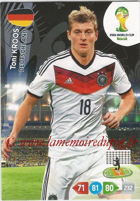 2014 - Panini FIFA World Cup Brazil Adrenalyn XL - N° 111 - Toni KROOS (Allemagne)