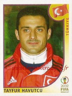 2002 - Panini FIFA World Cup Stickers - N° 194 - Tayfur HAVUTCU (Turquie)