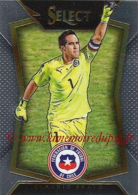 2015 - Panini Select Soccer - N° 001 - Claudio BRAVO (Chili)