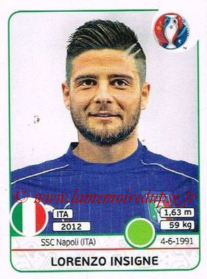 Panini Euro 2016 Stickers - N° 513 - Lorenzo INSIGNE (Italie)