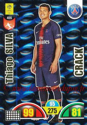 2018-19 - Panini Adrenalyn XL Ligue 1 - N° 455 - Thiago SILVA (Paris Saint-Germain) (Crack)