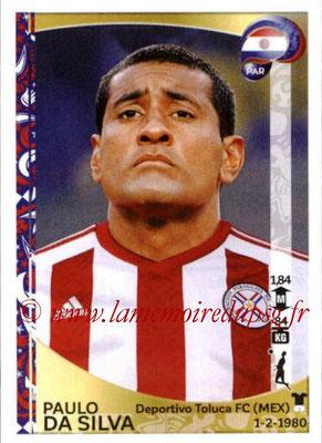 Panini Copa America Centenario USA 2016 Stickers - N° 092 - Paulo DA SILVA (Paraguay)