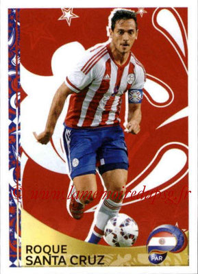 Panini Copa America Centenario USA 2016 Stickers - N° 424 - Roque SANTA CRUZ (Paraguay) (En action)