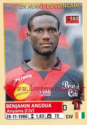 2014-15 - Panini Ligue 1 Stickers - N° 102 - Benjamin ANGOUA (EA Guingamp)