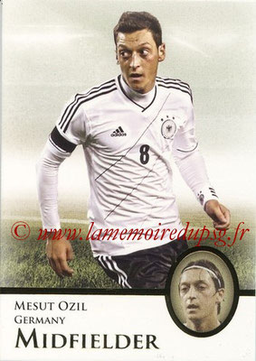 2013 - Futera World Football Unique - N° 127 - Mesut OZIL (Allemagne) (Midfielder) (Master)