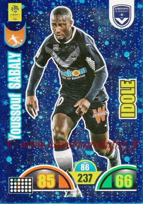 2018-19 - Panini Adrenalyn XL Ligue 1 - N° 365 - Youssouf SABALY (Bordeaux) (Idole)