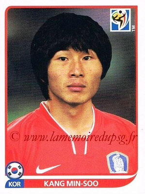 2010 - Panini FIFA World Cup South Africa Stickers - N° 149 - Kang MIN-SOO (Corée du Sud)