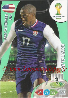 2014 - Panini FIFA World Cup Brazil Adrenalyn XL - N° 324 - Jozy ALTIDORE (Etats-Unis) (One to watch)