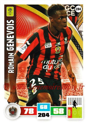 2016-17 - Panini Adrenalyn XL Ligue 1 - N° 284 - Romain GENEVOIS (Nice)