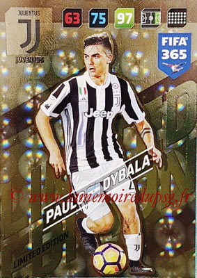 2017-18 - Panini FIFA 365 Cards - N° LE-PD - Paulo DYBALA (Juventus) (Limited Edition)