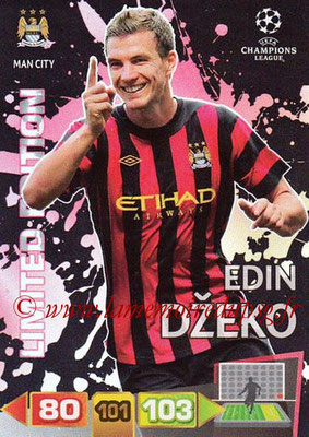 2011-12 - Panini Champions League Cards - N° LE26 - Edin DZEKO (Manchester City FC) (Limited Edition)