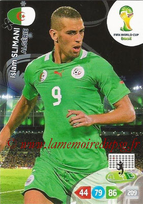 2014 - Panini FIFA World Cup Brazil Adrenalyn XL - N° 006 - Islam SLIMANI (Algérie)