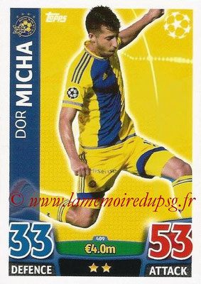2015-16 - Topps UEFA Champions League Match Attax - N° 409 - Dor MICHA (Maccabi Tel-Aviv FC)