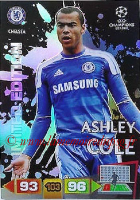 2011-12 - Panini Champions League Cards - N° LE19 - Ashley COLE (Chelsea FC) (Limited Edition)