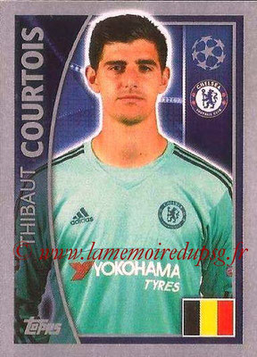 2015-16 - Topps UEFA Champions League Stickers - N° 450 - Thibaut COURTOIS (Chelsea FC)