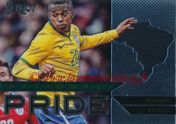 2015 - Panini Select Soccer - N° NP06 - ROBINHO (Brésil) (National Pride)