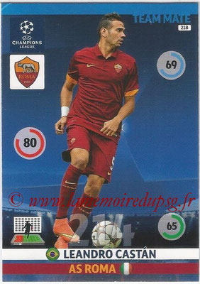 2014-15 - Adrenalyn XL champions League N° 218 - Leandro CASTAN (AS Roma)