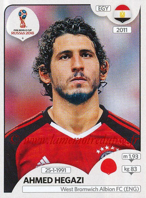 2018 - Panini FIFA World Cup Russia Stickers - N° 079 - Ahmed HEGAZI (Egypte)