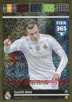 2015-16 - Panini Adrenalyn XL FIFA 365 - N° LE-GB - Gareth BALE (Real Madrid CF) (Limited Edition)