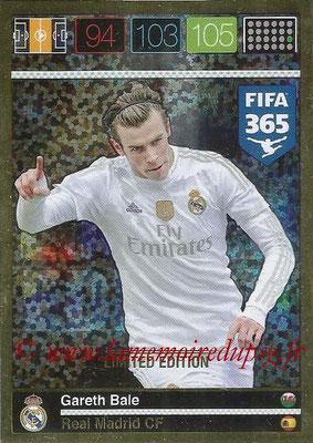 2015-16 - Panini Adrenalyn XL FIFA 365 - N° LE-GB - Gareth BALE (Real Madrid CF) (Limited Edition)
