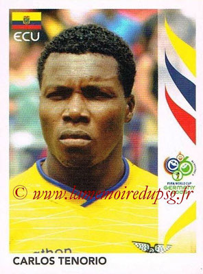 2006 - Panini FIFA World Cup Germany Stickers - N° 091 - Carlos TENORIO (Equateur)