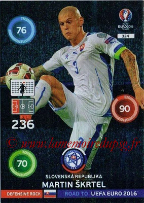 Panini Road to Euro 2016 Cards - N° 324 - Martin SKRTEL (République slovaque) (Defensive Rock)
