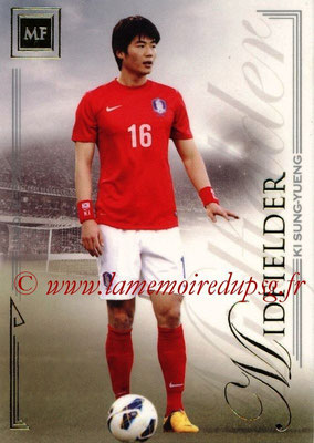 2014 - Futera World Football Unique - N° 061 - Ki SUNG-YUENG (Midfielder)