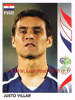 2006 - Panini FIFA World Cup Germany Stickers - N° 114 - Justo VILLAR (Paraguay)