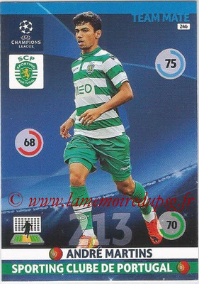 2014-15 - Adrenalyn XL champions League N° 246 - Andre MARTINS (Sporting Club de Portugal)