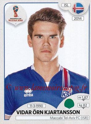 2018 - Panini FIFA World Cup Russia Stickers - N° 310 - Vidar ORN KJARTANSSON (Islande)