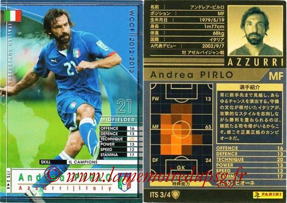 2012-13 - WCCF - N° ITS3 - Andrea PIRLO (Italie)