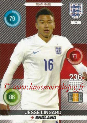 Panini England 2016 Adrenalyn XL - N° 039