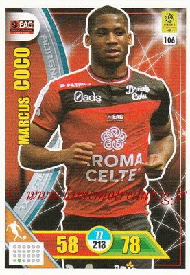 2017-18 - Panini Adrenalyn XL Ligue 1 - N° 106 - Marcus COCO (Guingamp)