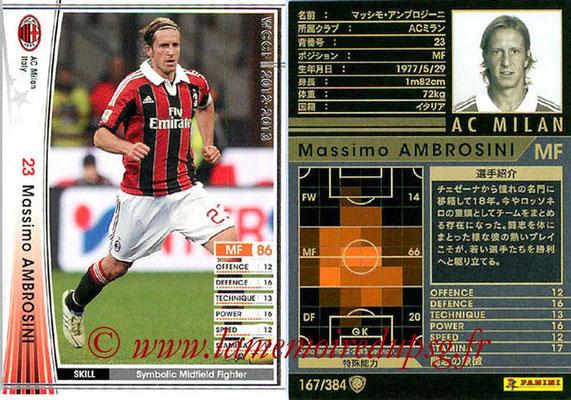 2012-13 - WCCF - N° 167 - Massimo AMBROSINI (Milan AC)