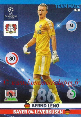 2014-15 - Adrenalyn XL champions League N° 082 - Bernd LENO (Bayer Leverkusen)