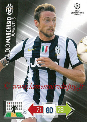 2012-13 - Adrenalyn XL champions League N° 114 - Claudio MARCHISIO (Juventus FC)