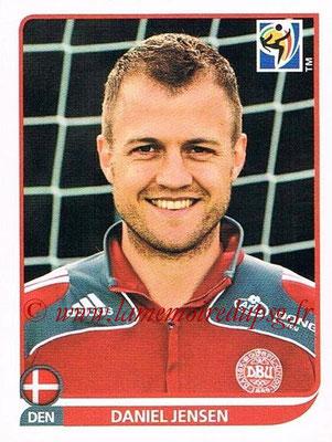 2010 - Panini FIFA World Cup South Africa Stickers - N° 363 - Daniel JENSEN (Danemark)