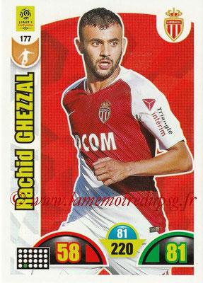 2018-19 - Panini Adrenalyn XL Ligue 1 - N° 177 - Rachid GHEZZAL (Monaco)