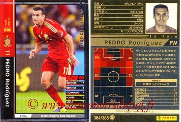 2013-14 - WCCF - N° 384 - Pedro RODRIGUEZ (Espagne)